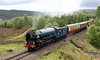 60163 Tornado on the climb to Slochd Summit with the Cathedrals Express on Saturday 15th June 2013