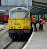 Crew change at Carlisle Station on Monday 28th June 2015