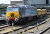 57309 Pride of Crewe at Carlisle with ballast hoppers on Monday 28th June 2015