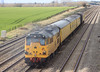 31285 on rear of test train at Cholsey near Didcot Power Station on Tuesday 20th March 2012