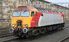 57304 pauses briefly at Carlisle on the 16th March 2012