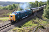 55022 climbs over Slochd with special on 28th May 2011