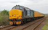 37419 with test train at Dyce on Thursday 15th May 2014