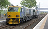 Weedkiller MPV leaves Dyce to turn at Waterloo Quay on Sunday 18th May 2014