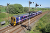 158714 enters Keith with an Aberdeen to Inverness service on Friday 30th May 2014