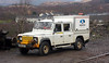 Aquarius Railroad Technologies - Land Rover - Garelochhead Station - 5 February 2012