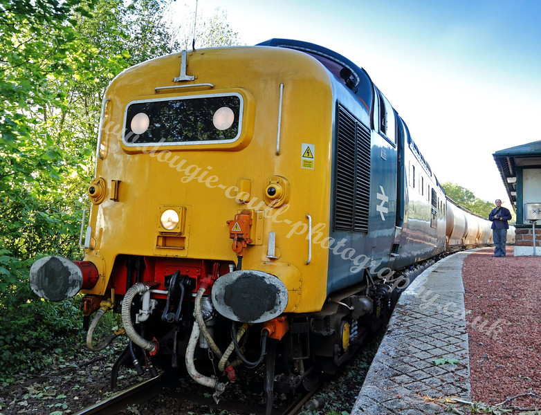 Deltic 55022 Diesel Locomotive - May 2011