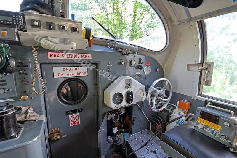 Deltic 55 022 Diesel Locomotive Cab Interior - May 2011