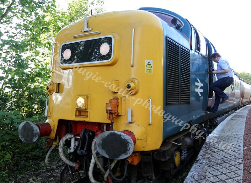 Deltic 55022 Diesel Locomotive - May 2011