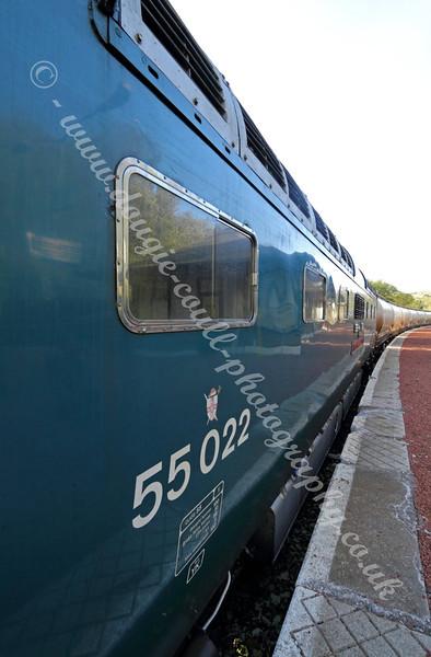 Deltic 55 022 Diesel Locomotive - May 2011