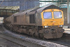 66434 leads 66304 on RHTT at Carlisle on 24th November 2011