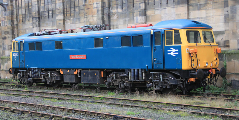 87002 Royal Sovereign sits in Carlisle in preparation for ice breaking duties