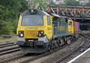 70009 at Newport on Monday 1st October 2012