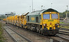 66603 with HOBC at Westbury on Monday 21st October 2013