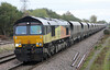 66847 with an empty coal train from Ratcliffe Power Station at North Staffs Junction on 24th October 2014