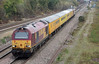 67030 with 67020 on rear with a test train at North Staffs Junction on 24th October 2014