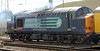37601 on rear of test train at Carlisle on Thursday 27th September 2012