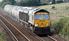 66614 with Oxwellmains to Craiginches cement on Wednesday 19th September 2012