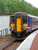 First Scotrail Class 156 Super Sprinter 156458 - Garelochhead Station - 2 June 2012