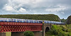 Trains Pass at South Queensferry - 5 July 2015