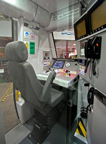 New 'Class 380' Train - Driver Cab