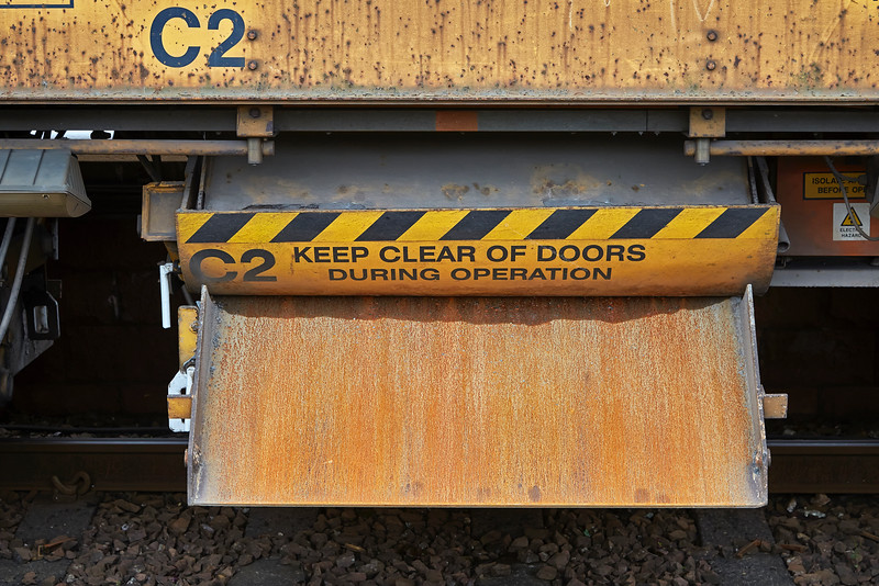 Network Rail Ballast Wagon at Gourock - 11 September 2016