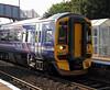 Train DMU 158 - 158716 - Mount Vernon Station - 21 September 2011