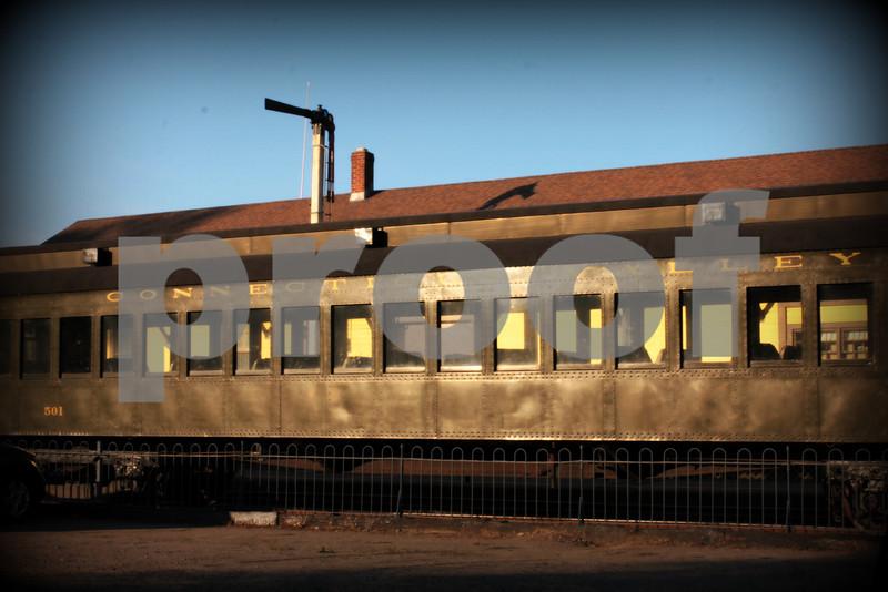 Old train still running!