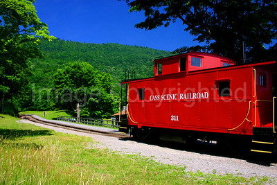 Cass Scenic Train Railroad Caboose