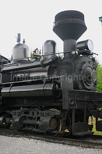 Shay Train Locomotive - 7/19/06