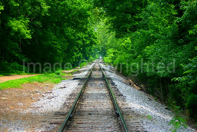 Train Tracks in Harpers Ferry WV