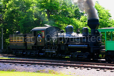 Cass Scenic Railroad Train Shay #2 Engine