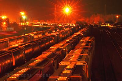 Rail Cars and Tracks