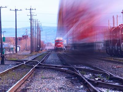 Dynamic Train Happening