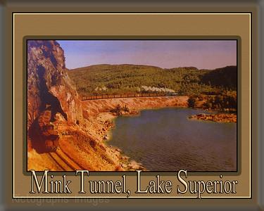 Mink Tunnel, Lake Superior,