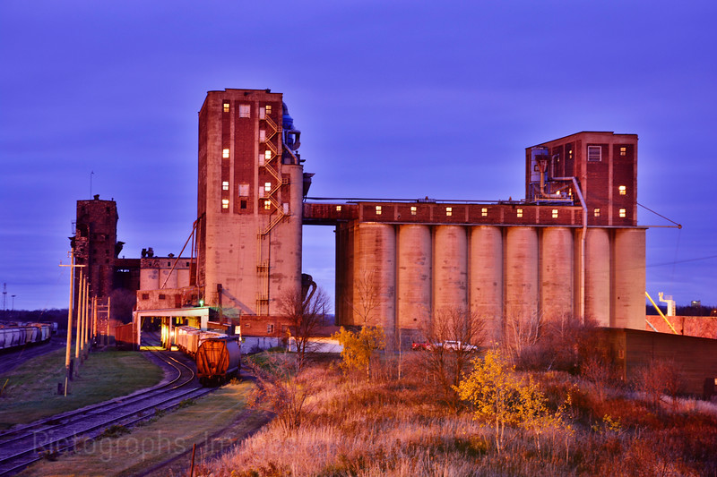 Thunder Bay, Ontario, Canada, Grain Elevator, 2015; Rictographs Images