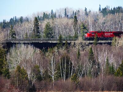 Train Travelling Canada