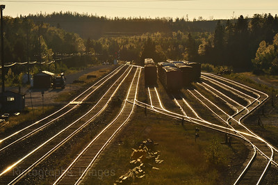 Early Morning At The Rail Road Yard
