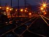 Illuminated Train Tracks