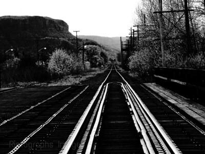 Inter City Tracks, Thunder Bay, Ontario, Canada