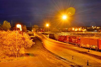 Trains Going Bye, Long Exposure