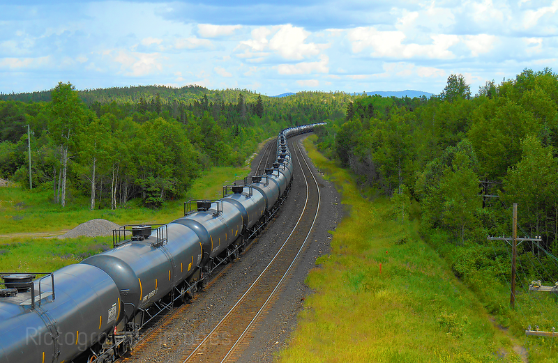 Oil Train Moving Energy