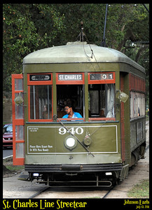 St. Charles Line Streetcar  New Orleans, 13 July 2011