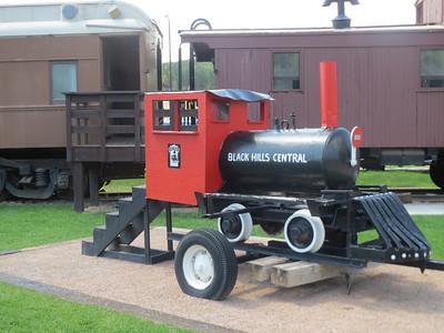 Trains at Hill City South Dakota