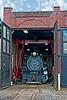 Denver & Rio Grande Western Steam  #491 in Roundhouse