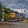 Headed West - CSX Train