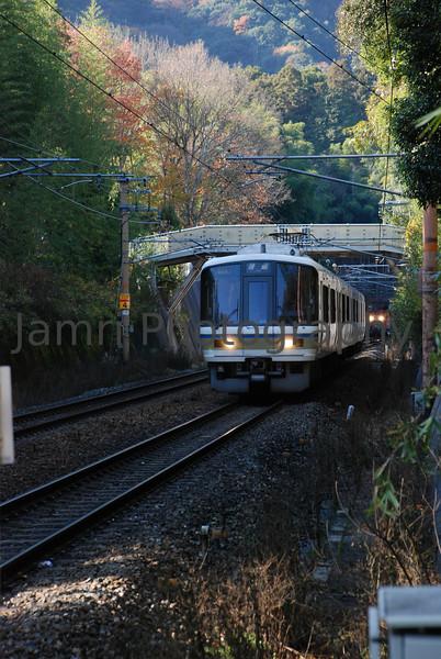Mountain Train, Arashiyama, Kyoto, Japan