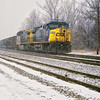 CSX Through the Snow