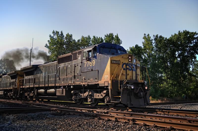 Evening CSX Train