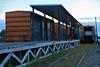 Moosonee express freight platform.